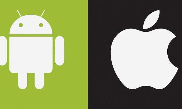 ข้อแตกต่างระหว่าง iOS และ Android